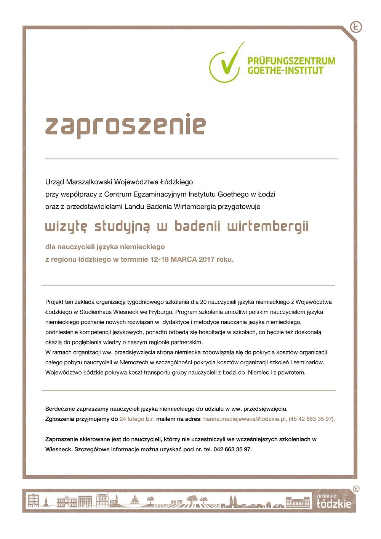 Bezpłatne Szkolenie Dla Nauczycieli Języka Niemieckiego W
