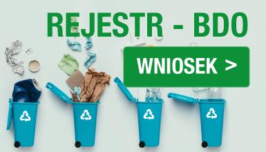Rejestr podmiotów wprowadzających produkty, produkty w opakowaniach i gospodarujących odpadami