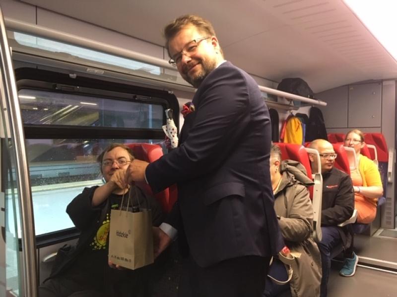 Pociąg do smaków łódzkiego zawitał w Piotrkowie Trybunalskim