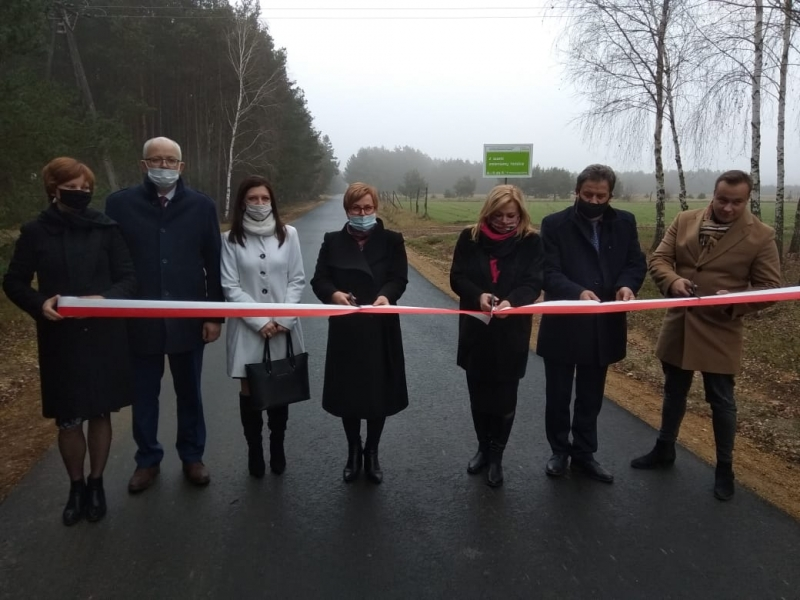 Nowa droga w gminie Siemkowice