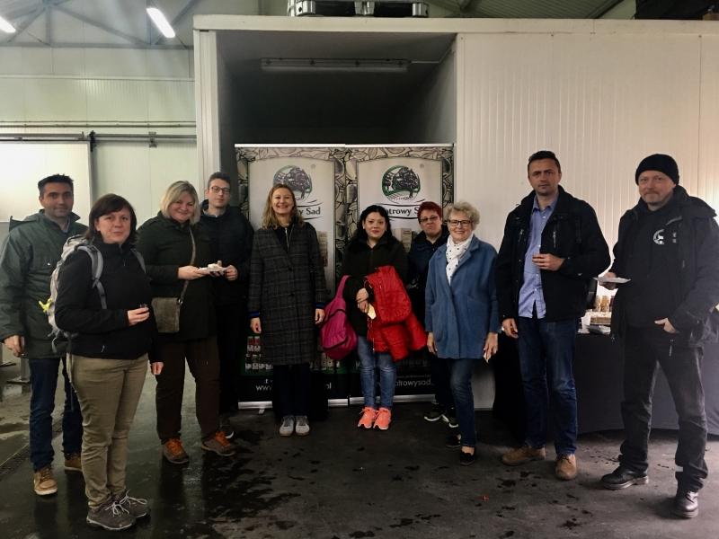 Wizyta partnerów z Rumunii i Belgii w ramach projektu BioGov realizowanego z programu Interreg Europa