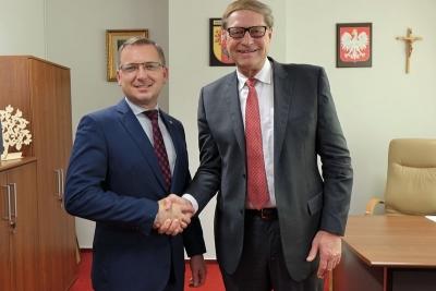 Spotkanie w sprawie współpracy województwa łódzkiego ze stanem Nevada