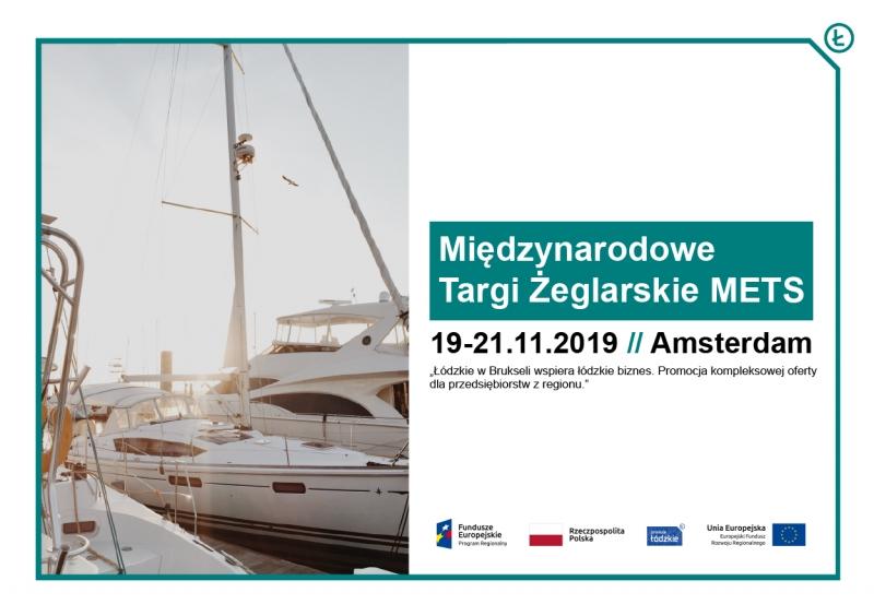 Firmy z branży żeglarskiej na międzynarodowych targach METS 2019 w Amsterdamie