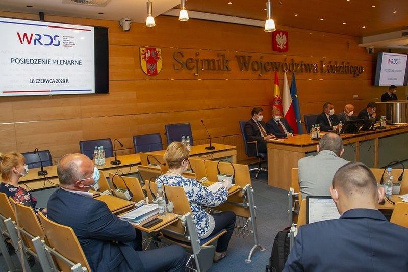 O działaniach w czasie pandemii na posiedzeniu Wojewódzkiej Rady Dialogu Społecznego Województwa Łódzkiego
