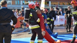 Strażacy rywalizowali w Manufakturze