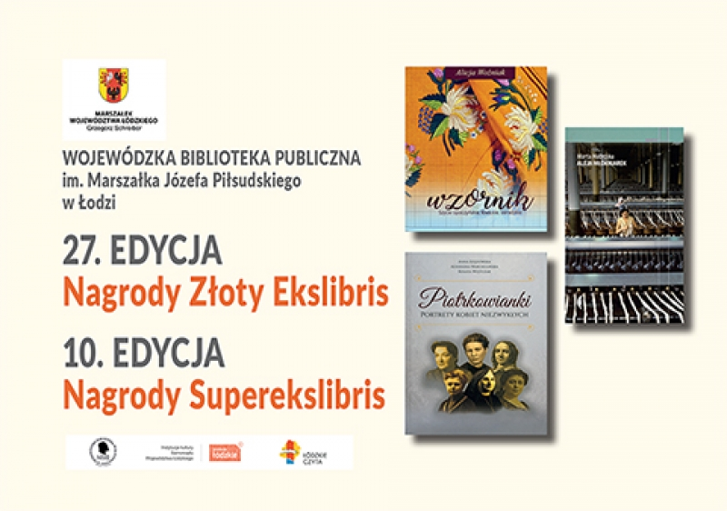 Wręczenie Nagród Złoty Ekslibris oraz Nagród Superekslibris za rok 2018.