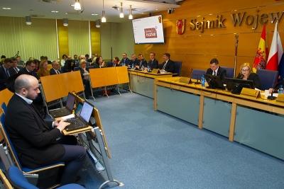 XVI sesja Sejmiku Województwa Łódzkiego