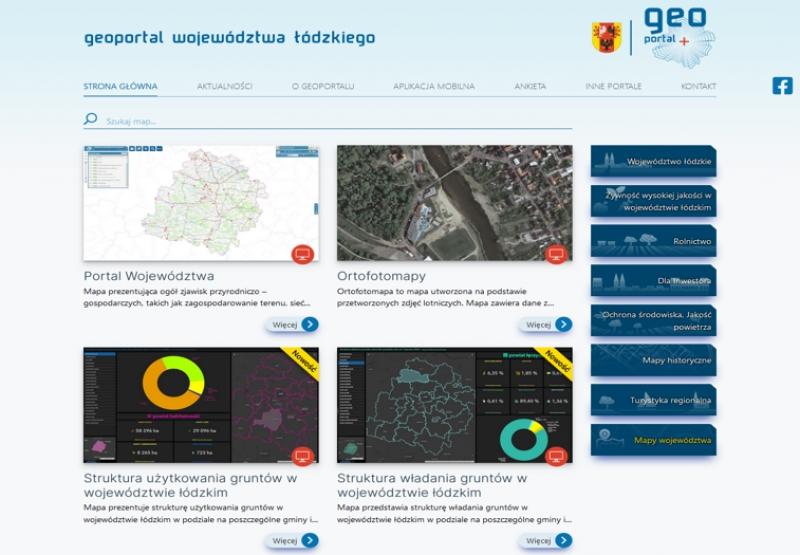 Geoportal Województwa Łódzkiego w nowej odsłonie