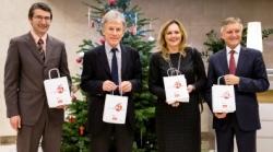 Spotkanie świąteczne w Brukseli