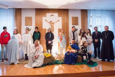 Spotkanie opłatkowe nauczycieli i katechetów