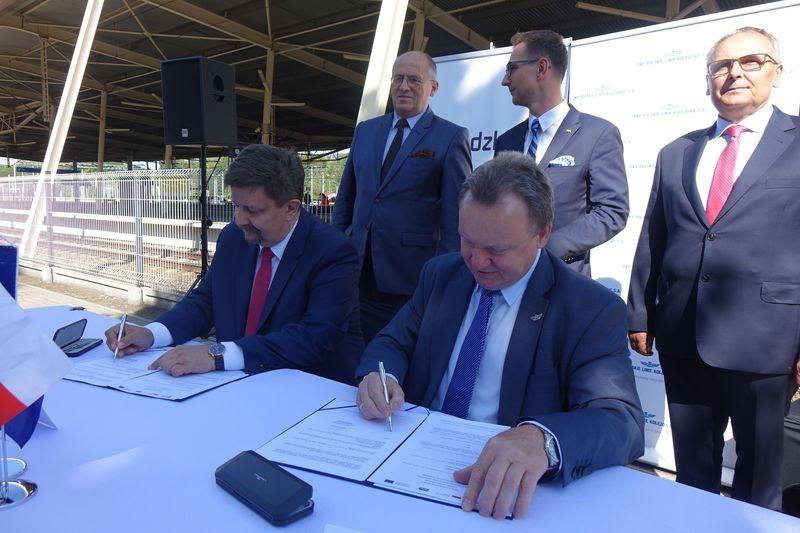 Rewitalizacja linii kolejowej nr 16 na odcinku Zgierz – Ozorków