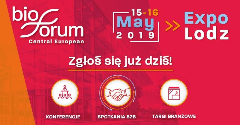 Central European BioForum 2019  Łódź stanie się w maju europejską stolicą biotechnologii