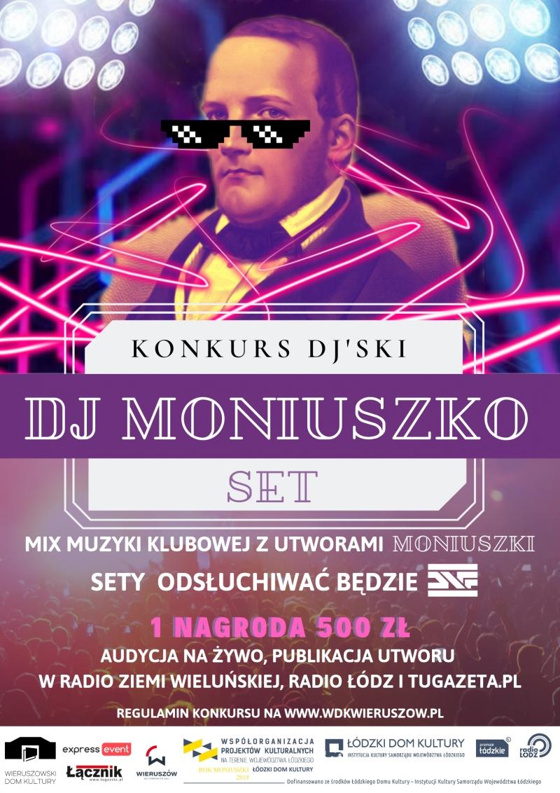 Konkurs na set - DJ Moniuszko
