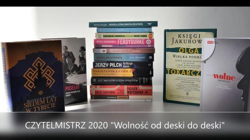 """Konkurs czytelniczy """"Czytelmistrz 2020"""""""