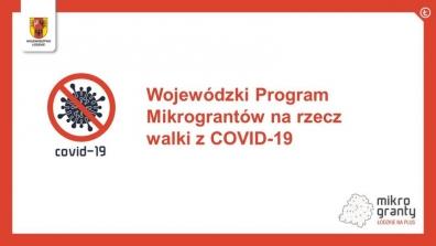 Program Mikrograntów na rzecz walki z COVID-19 podsumowany