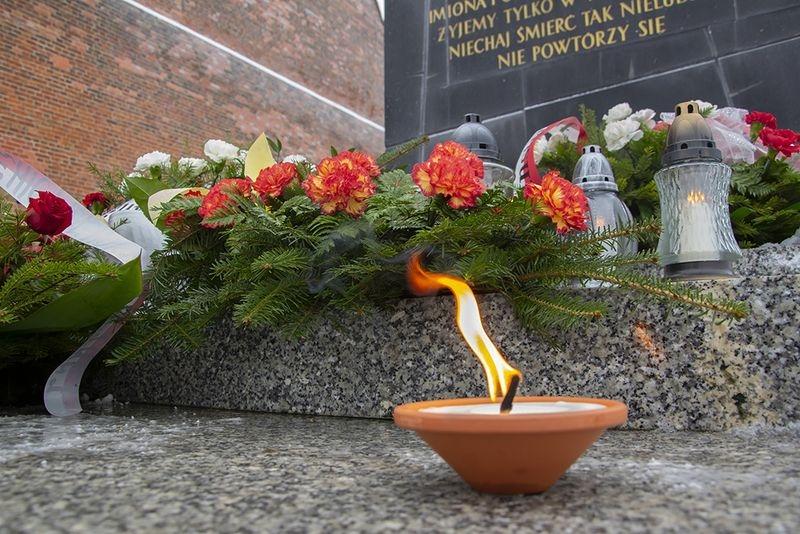 76 rocznica spalenia więźniów obozu Radogoszcz