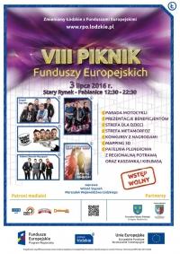 Zapraszamy na Piknik Funduszy Europejskich