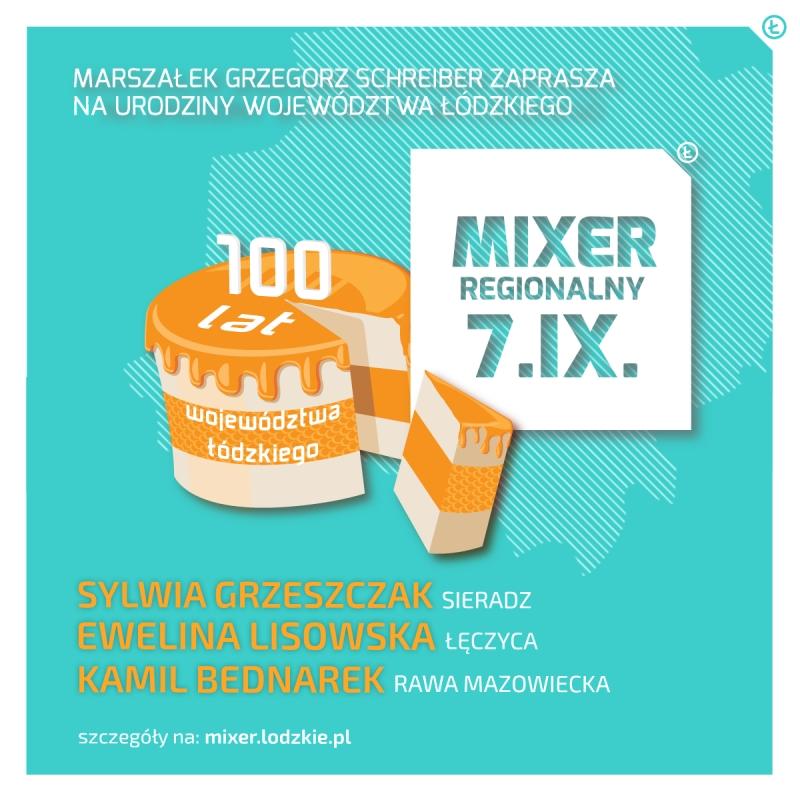 Zapraszamy na Mixer Regionalny