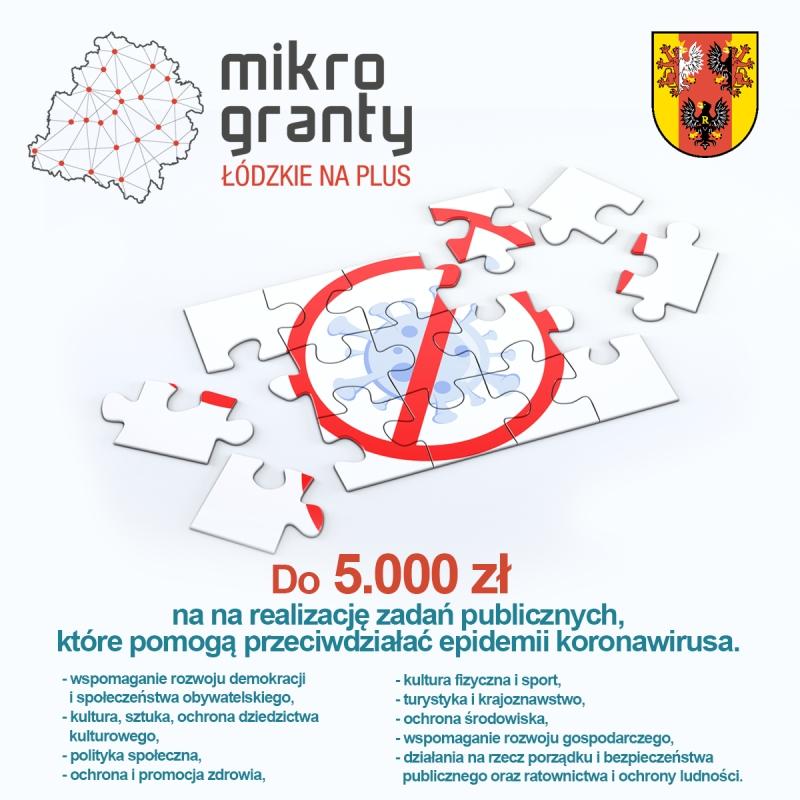 Wojewódzki Program Mikrograntów na rzecz walki z COVID-19.