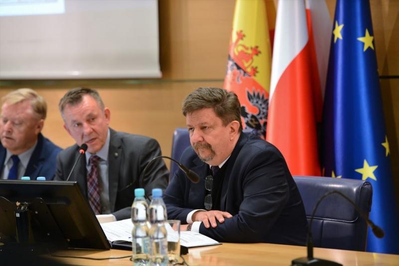O bezpieczeństwie na Wojewódzkiej Radzie Dialogu Społecznego