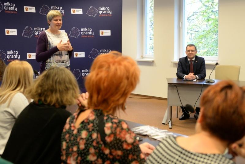 Kolejne dotacje w projekcie Mikrogranty Łódzkie na Plus rozdane