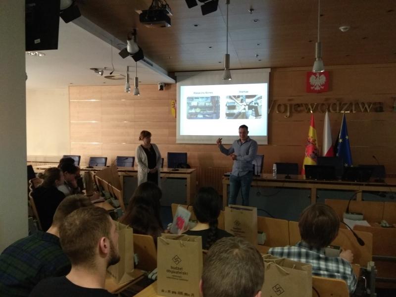 Studenci z obszaru postradzieckiego odwiedzili Łódzkie