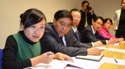 Chińska delegacja z Syczuanu