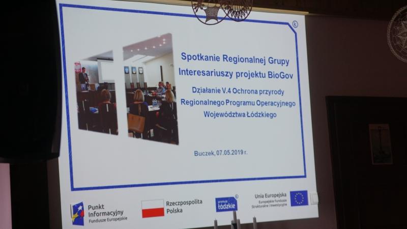 3. spotkanie regionalnej grupy interesariuszy projektu BIOGOV