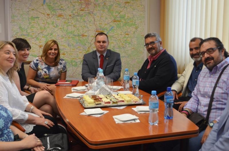 Delegacja z Hiszpanii odwiedziła Urząd Marszałkowski Województwa Łódzkiego