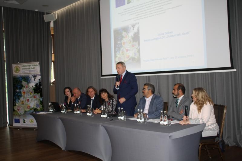 """Lokalna Grupa Działania """"Dolina rzeki Grabi"""" podsumowała realizację międzynarodowego projektu współpracy"""