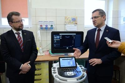 Nowy sprzęt medyczny dla piotrkowskiego szpitala