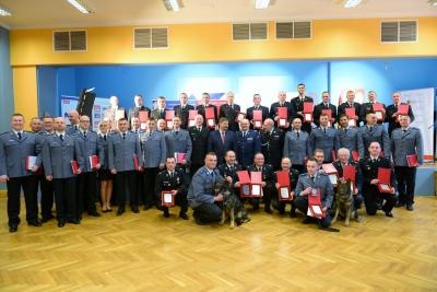 Najlepsi policjanci i strażacy zostali uhonorowani