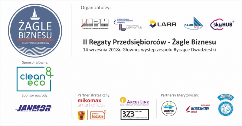 II Regaty Przedsiębiorstw - ŻAGLE BIZNESU