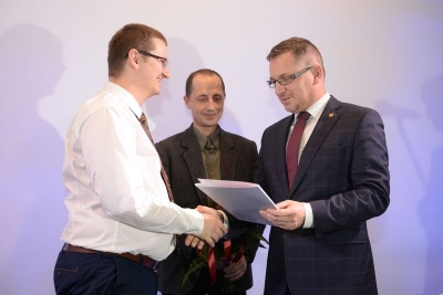 Nagroda Marszałka Województwa Łódzkiego dla laureata Ogólnopolskiego Konkursu Literackiego o Rubinową Hortensję