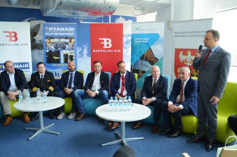 Piloci Ryanaira szkoleni na łódzkim lotnisku