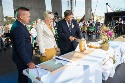 Dożynki Województwa Łódzkiego w Uniejowie 2020
