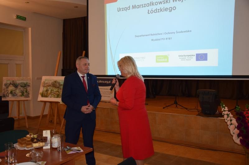 """Konferencja informacyjno-promocyjna Rybackiej Lokalnej Grupy Działania """"Z Ikrą"""""""