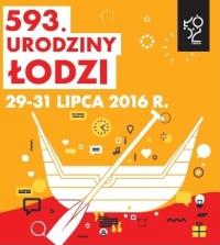 593. urodziny Łodzi w naszych instytucjach.