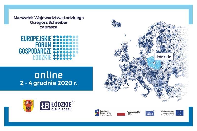 Zapraszamy na Europejskie Forum Gospodarcze - Łódzkie 2020