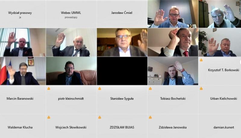 Artur Matiaszczyk przewodniczącym WRDS w 2021 roku